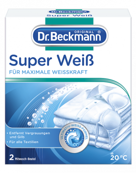 Dr. Beckmann SuperWeiß/Anti-Grau